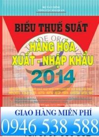 biểu thuế xnk 2014 mới nhất