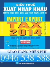 biểu thuế xnk song ngữ 2014